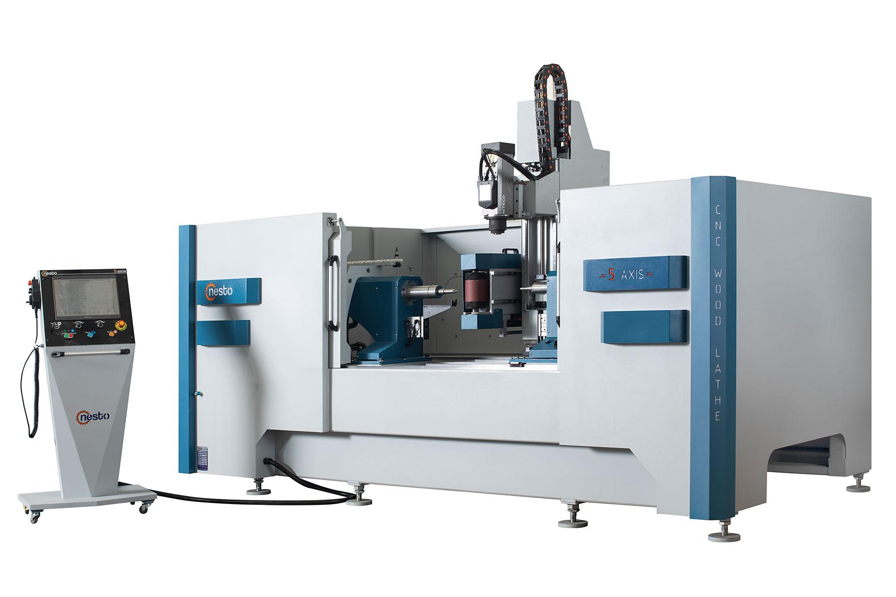 CNC ahşap torna makinesi